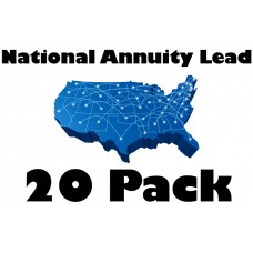 National Annuity Lead 20 Pack