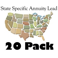 State Specific Annuity Lead 20 Pack